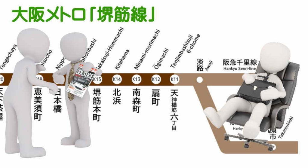 新大阪へ便利な家具付き賃貸
